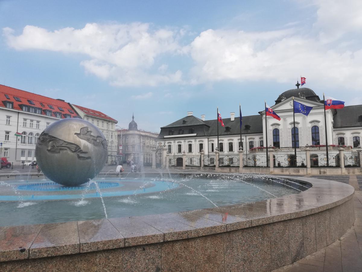 Президентский дворец в Братиславе / Фото Марина Григоренко