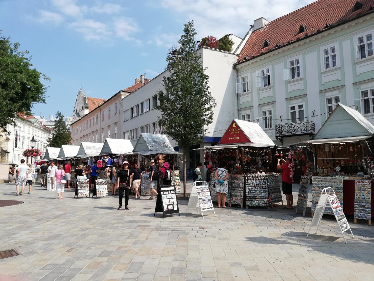 Сувенирная ярмарка в Братиславе / Фото Марина Григоренко