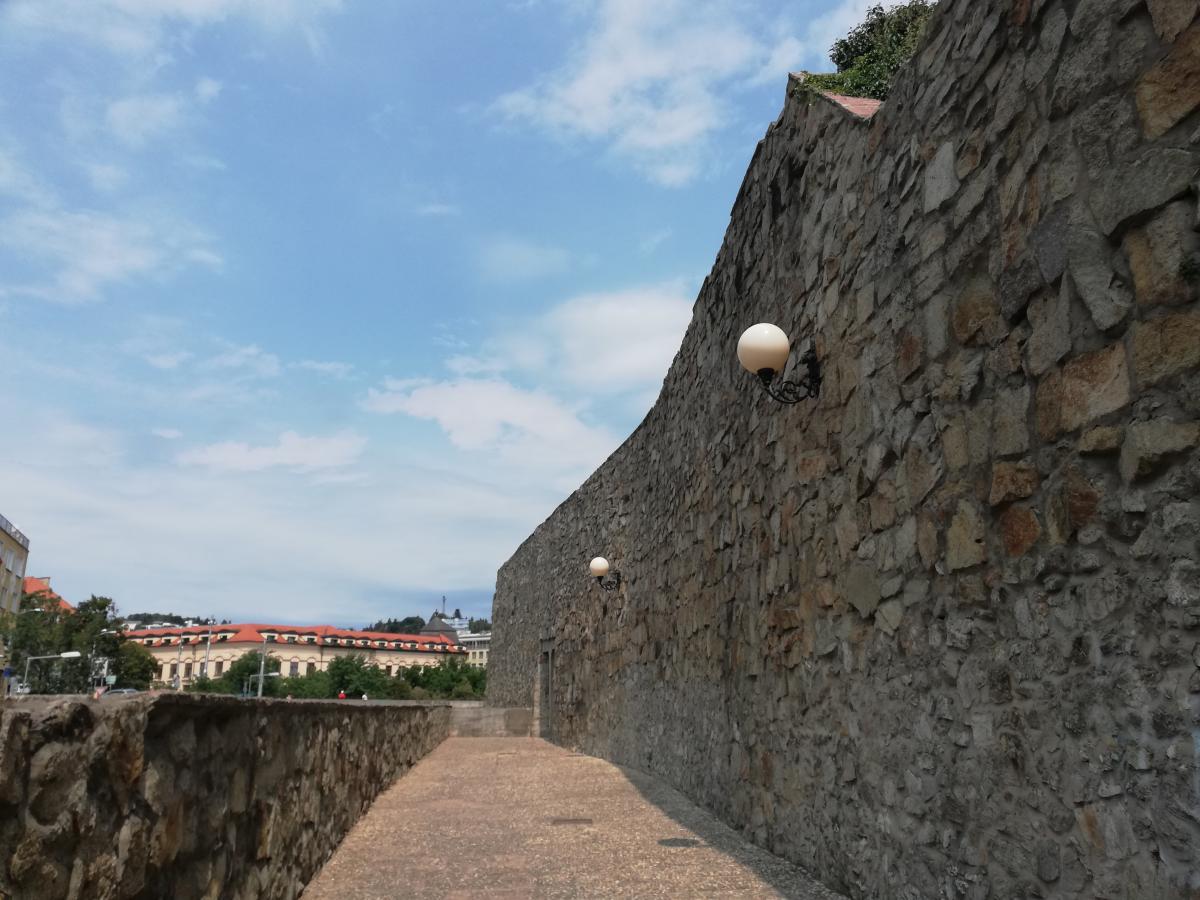Старые стены Братиславы / Фото Марина Григоренко