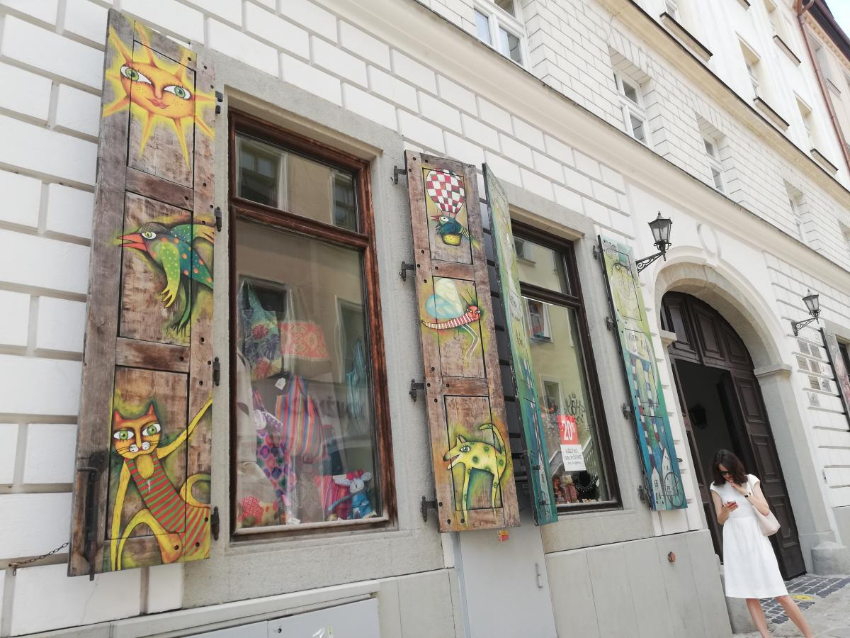 Магазинчики на пути в Братиславский град / Фото Марина Григоренко