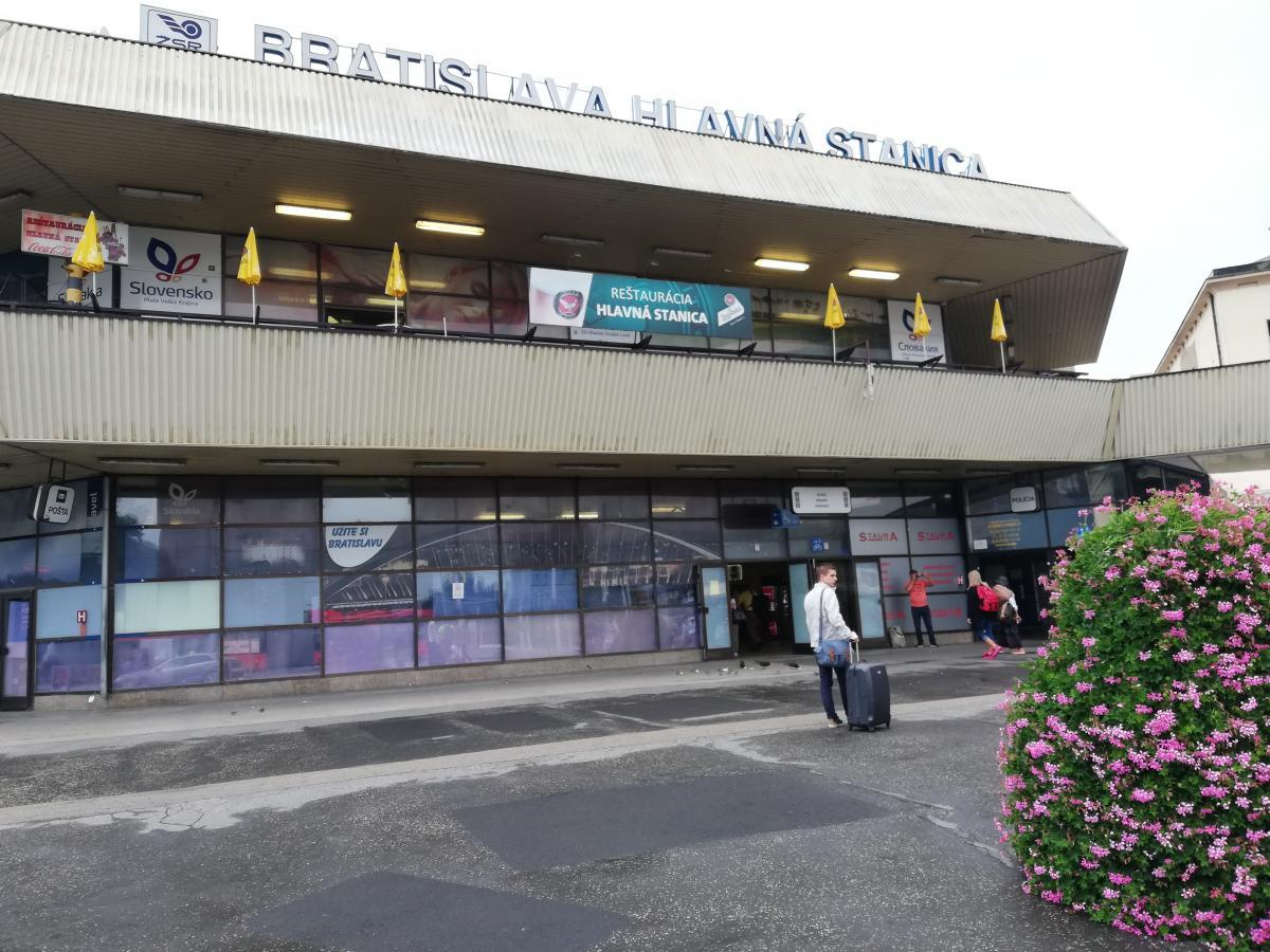 Вокзал Братиславы немного депрессивен / Фото Марина Григоренко
