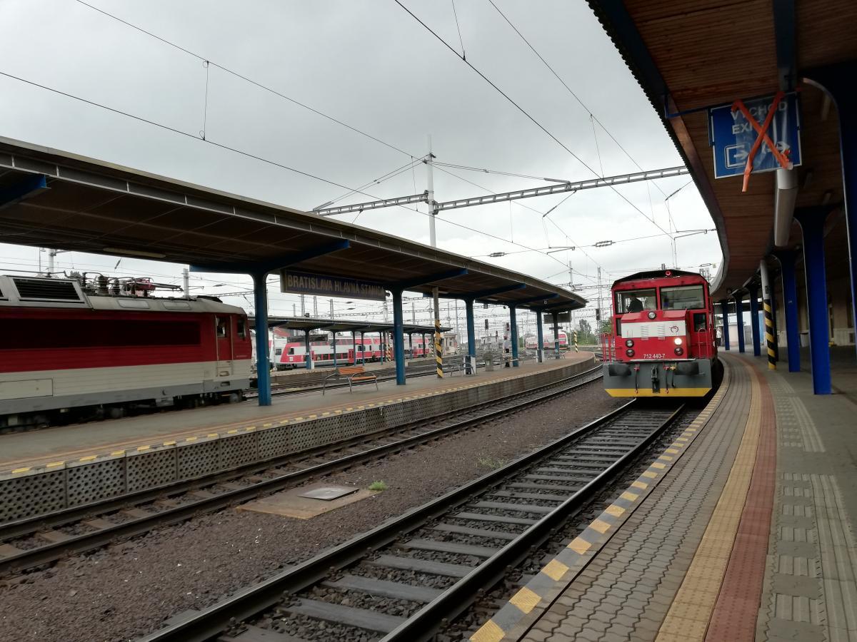 Ехать из Братиславы до Вены на вот таком поезде не больше часа / Фото Марина Григоренко