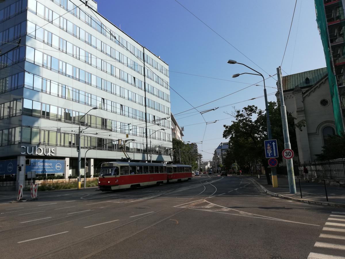 Такие знакомые трамваи в Братиславе / Фото Марина Григоренко