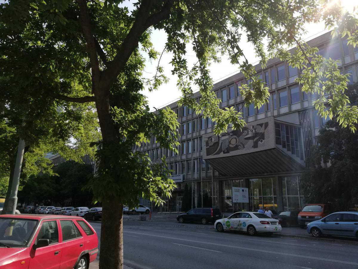 Здание технического университета / Фото Марина Григоренко