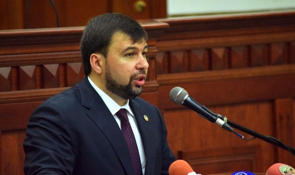 Пушилина объявили новым руководителем террористов / фото с ресурса боевиков