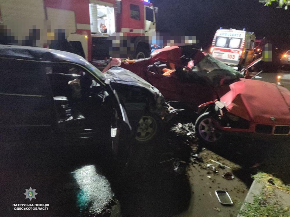 Під Одесою сталася страшна аварія / Патрульна поліція Одеської області