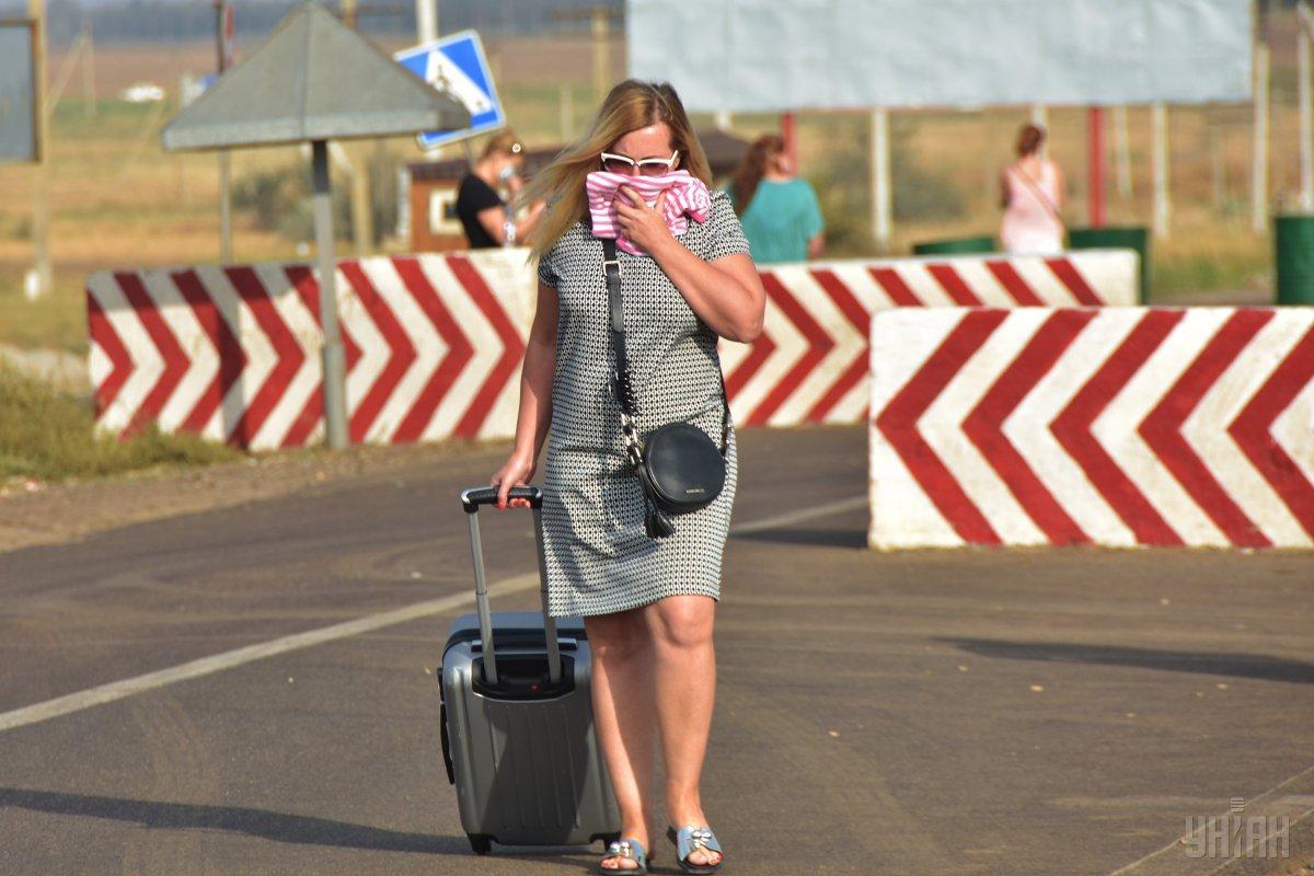 3 сентября наличие токсических веществ в воздухе было зафиксировано уже в Херсонской области / фото УНИАН