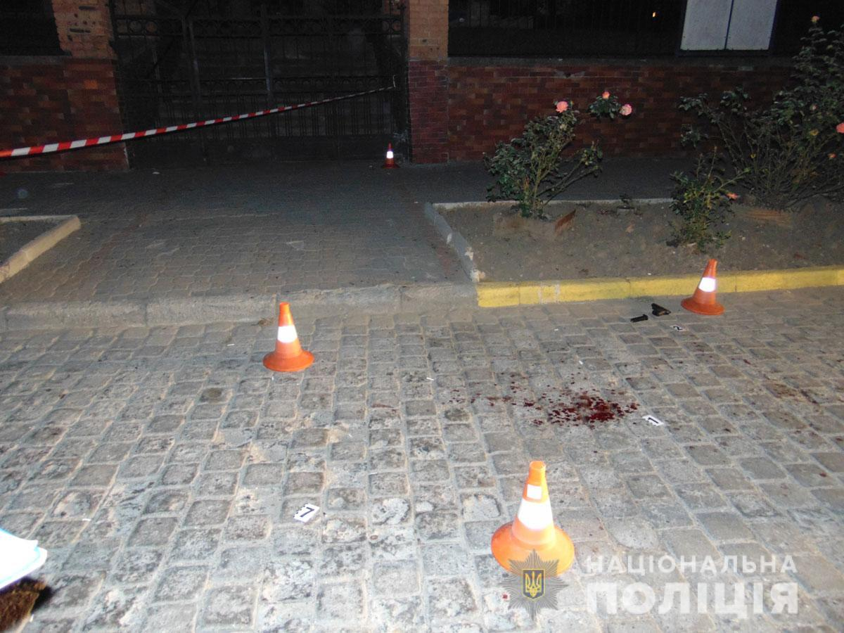 У Чернівцях вночі стріляли / фото Нацполіція