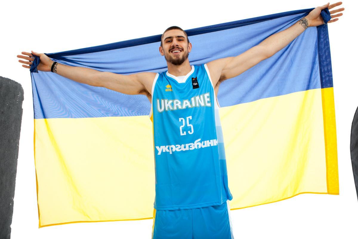 Лэнь впервые сыграет за национальную сборную Украины по баскетболу / fbu.kiev.ua