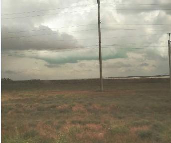 В оккупированном Армянске заметили зеленое облако / фото RoksolanaToday&Крым
