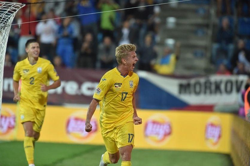 Олександр Зінченко провів 31 матч за збірну України / фото УАФ
