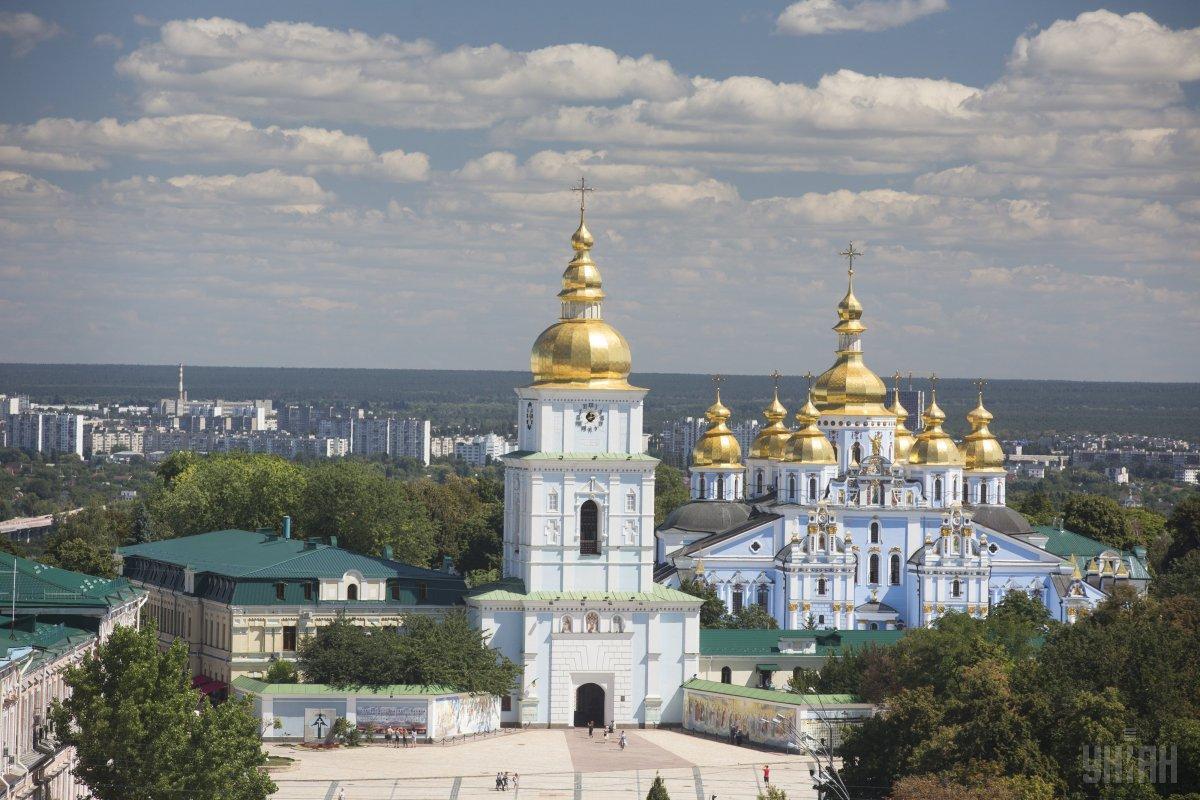 Блинкен побывает в Михайловском монастыре/ фото УНИАН
