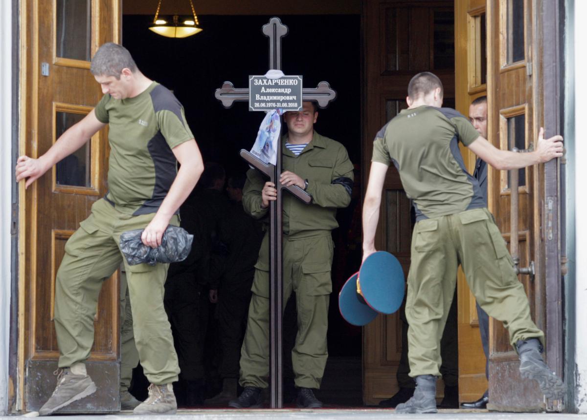 Александра Захарченко ликвидировали в Донецке 31 августа / REUTERS