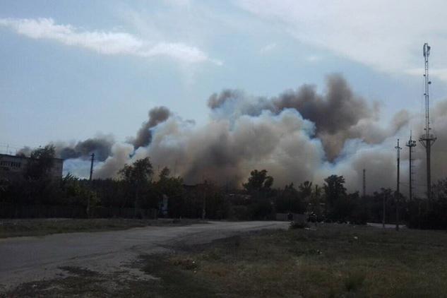 Рятувальники ліквідували пожежу у Красноградському лісництві / фото dsns.gov.ua