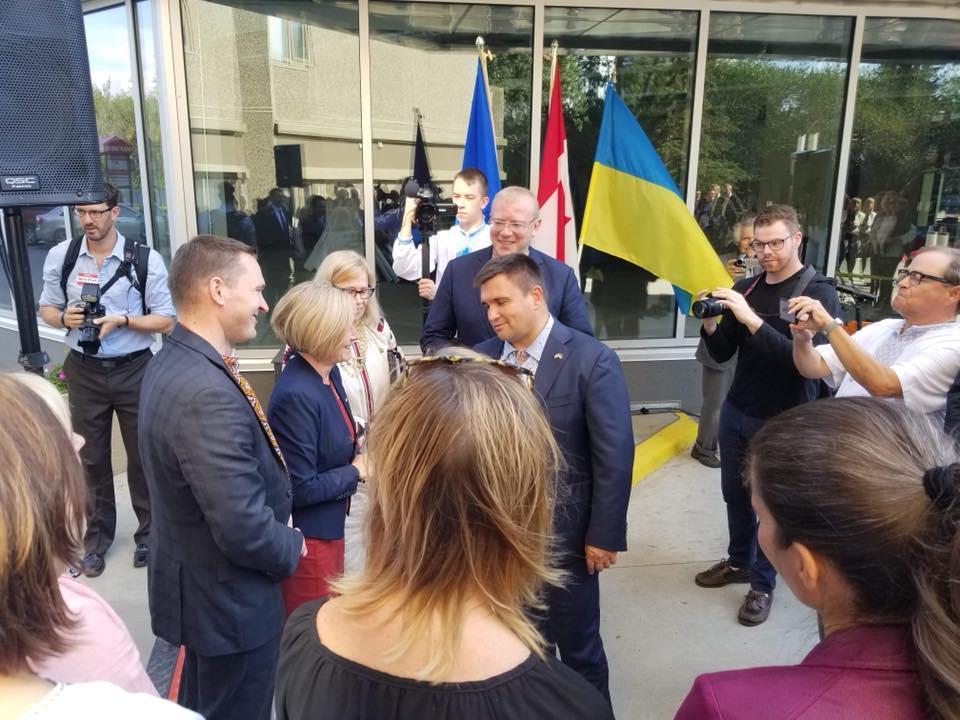 Консульство в Едмонтоні стало першим, яке Україна відкрила після початку війни \ Ukrainian Canadian Congress