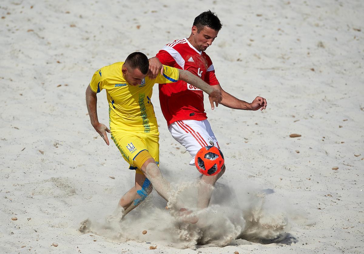 Сборная Украины проиграла все матчи группового этапа соревнований / beachsoccer.ru