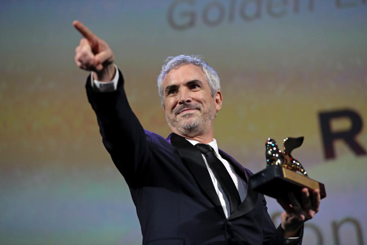 Режисер Альфонсо Куарон на Венеціанському кінофестивалі/ REUTERS