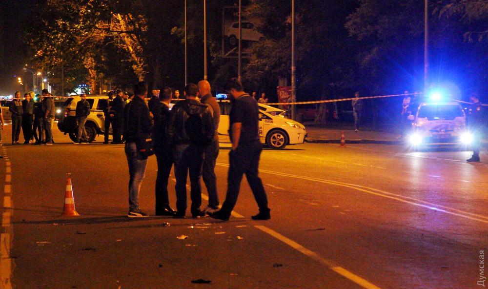 Поліція затримала винуватця ДТП в Одесі / фото Думская