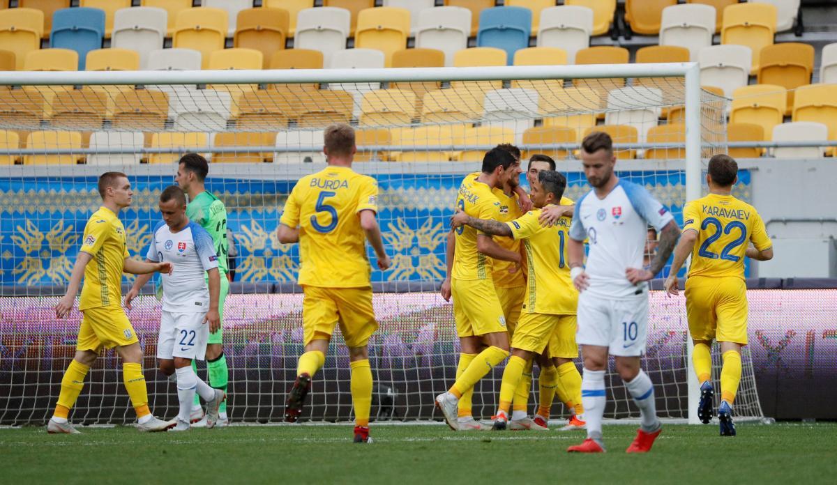 Украина - Словакия - 1:0 / REUTERS