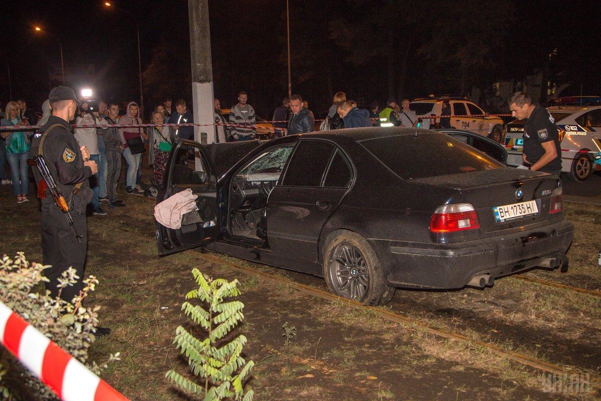 Власник BMW М5, раніше вже потрапляв в аналогічну ситуацію / фото УНІАН