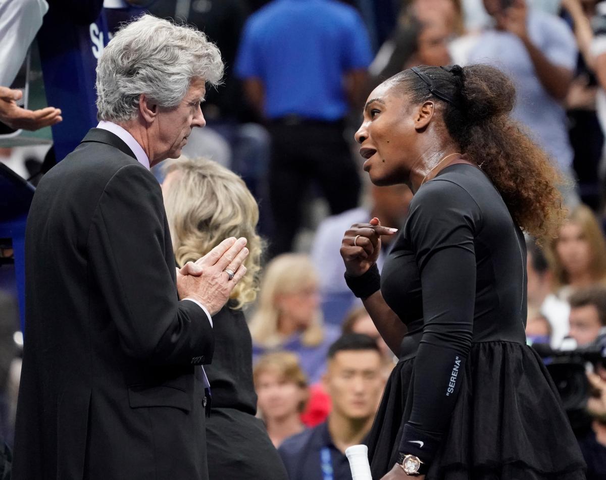 Серена Уильямс устроила скандал во время финала US Open |REUTERS