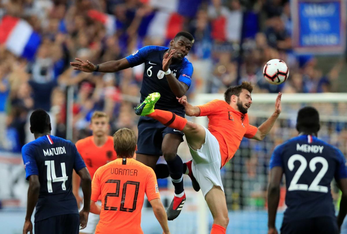 Франція - Голландія - 2:1 / REUTERS