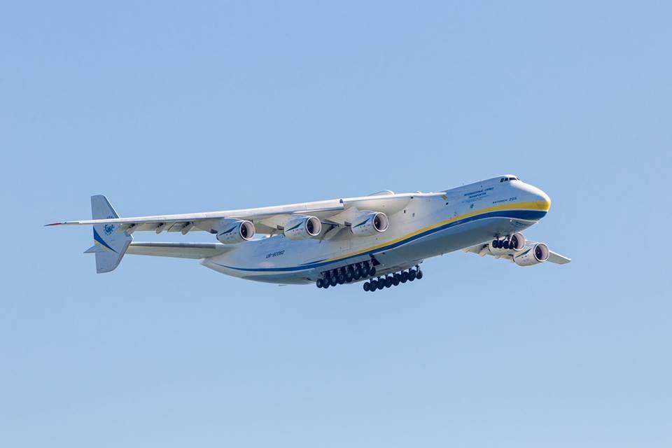 Ан-225 пролетів 13 годин на відстань в 9800 км / Facebook Віталій Трубніков