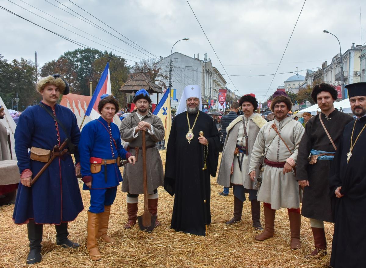 Митрополит Симеон принял участие в торжествах по случаю Дня города Винницы / orthodox.vinnica.ua
