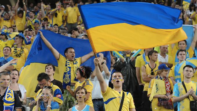 Украинские фанаты снова решили отличиться / фото: Dinamo.Kiev.UA