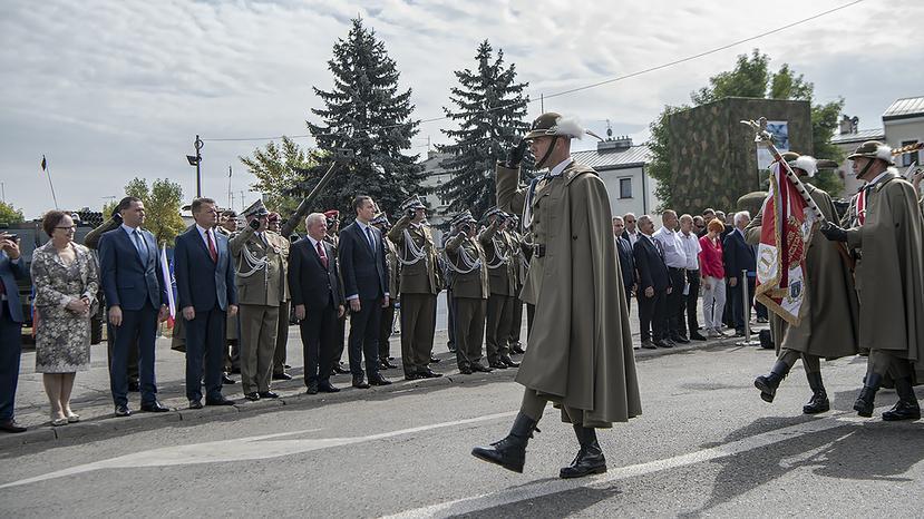 Поляки вирішили укріплювати свій західний кордон / фото: mon.gov.pl