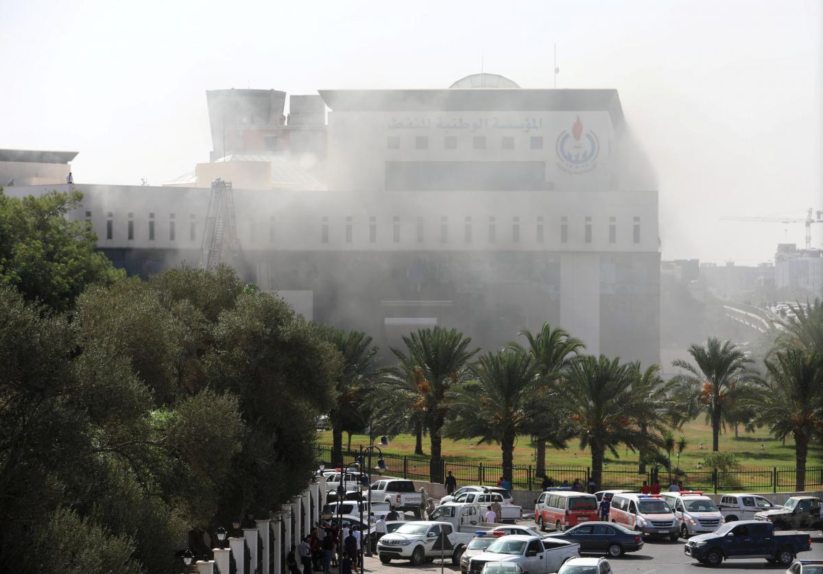 ВТриполи боевики атаковали кабинет нефтяной компании: есть погибшие