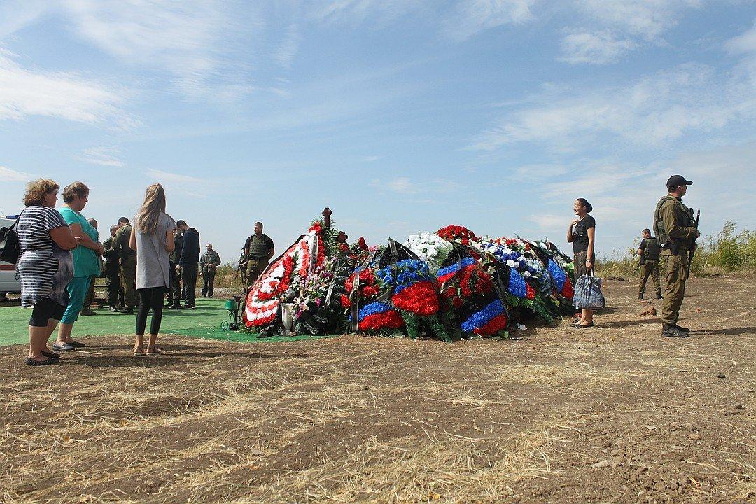 "Главаря ""ДНР"" похоронили на отшибе / фото twitter.com/den_kazansky"