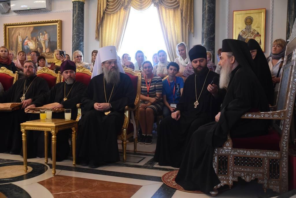 Українські віруючі зустрілися з Патріархом Феофілом / news.church.ua