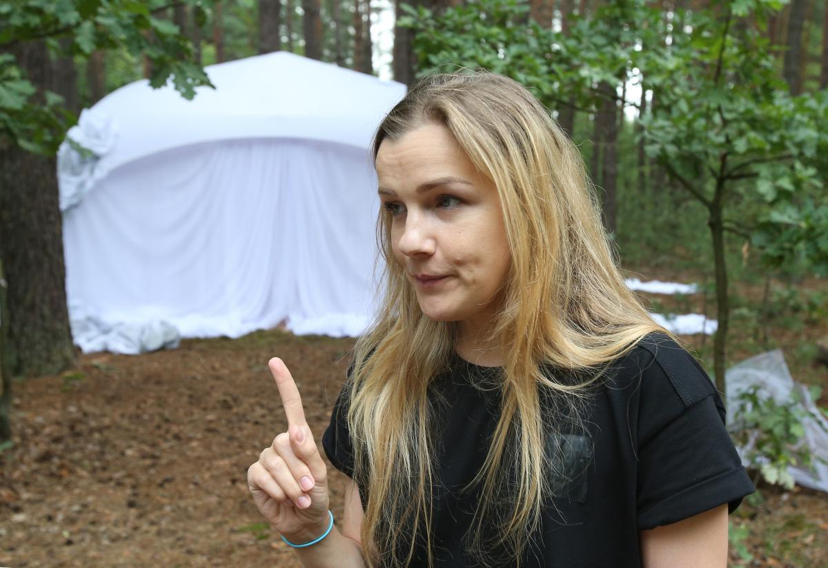 Наталья говорит, что это первый ее фильм с использованием такой технологии / фото УНИАН