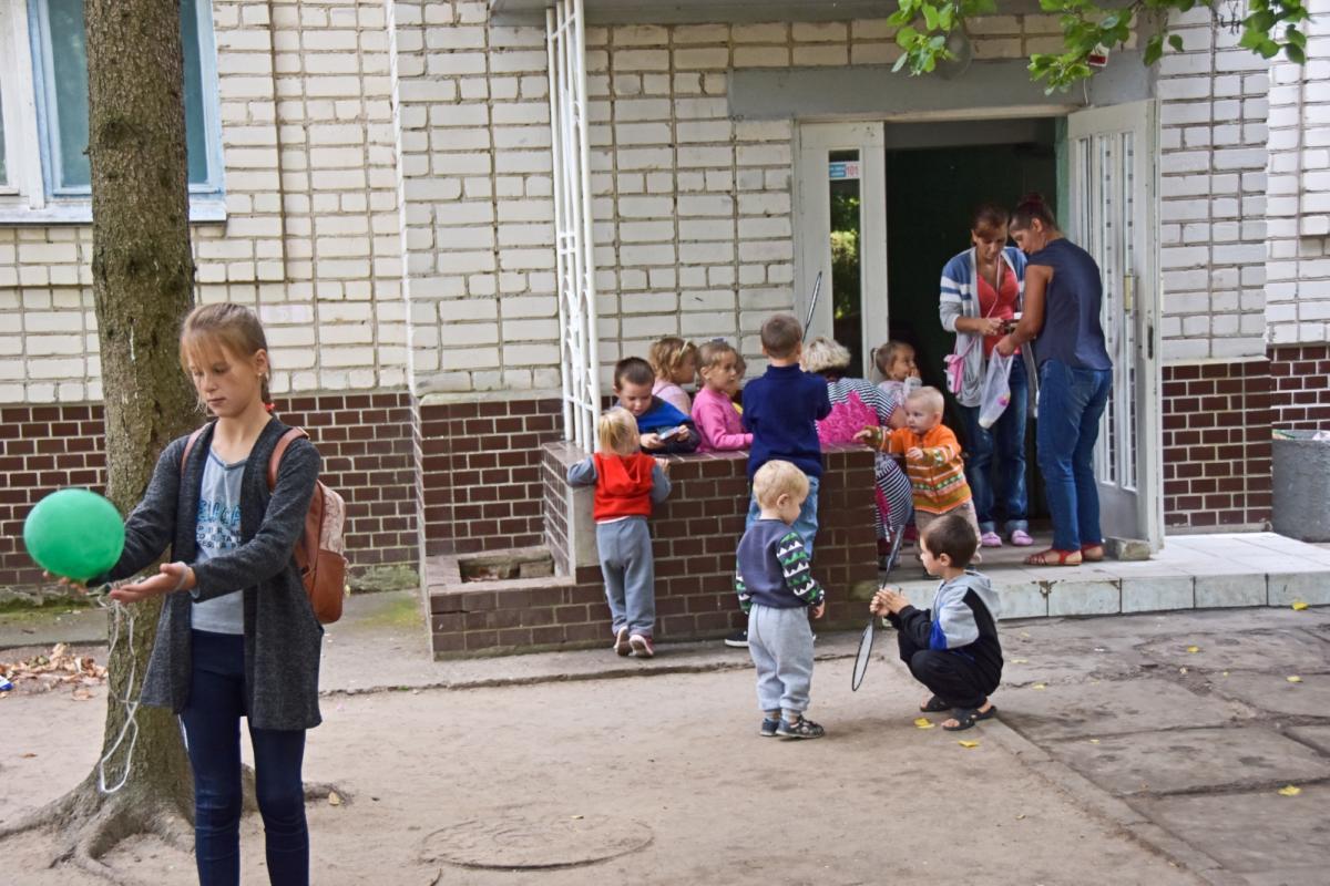 В курортном Скадовске находятся более 400 детей / фото УНИАН