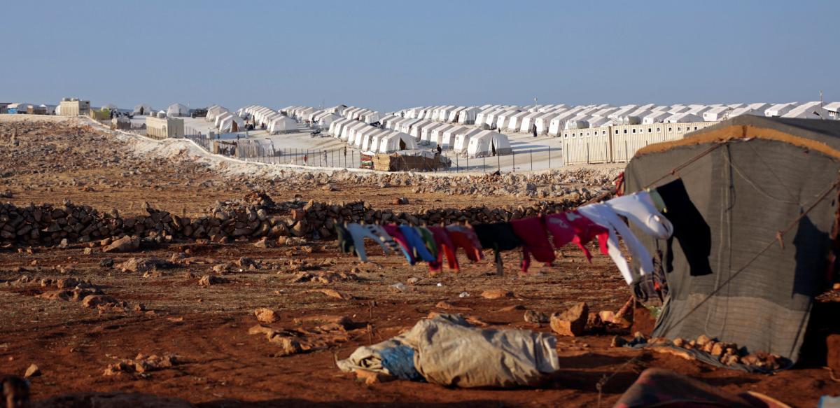 Лагерь беженцев в Идлибе / REUTERS