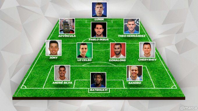 Лунін увійшов у символічну збірну новачків чемпіонату Іспанії / Marca