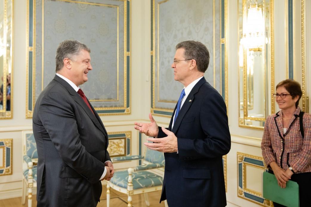 Встреча Президентас послом США / president.gov.ua