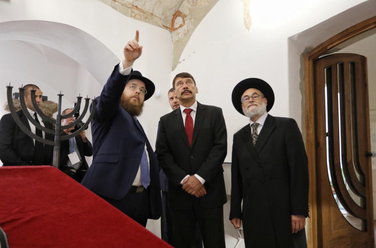 На церемонії відкриття був присутній президент країни / jta.org