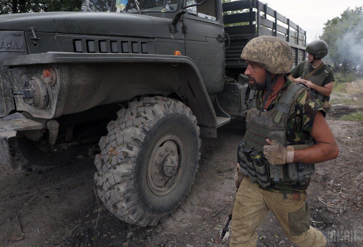 Сегодня потерь среди личного состава Объединенных сил нет / фото УНИАН