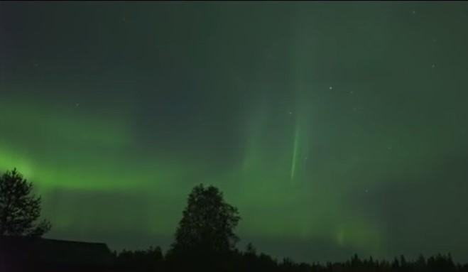 В Финляндии удалось заснять уникальные кадры / скриншот видео ТСН