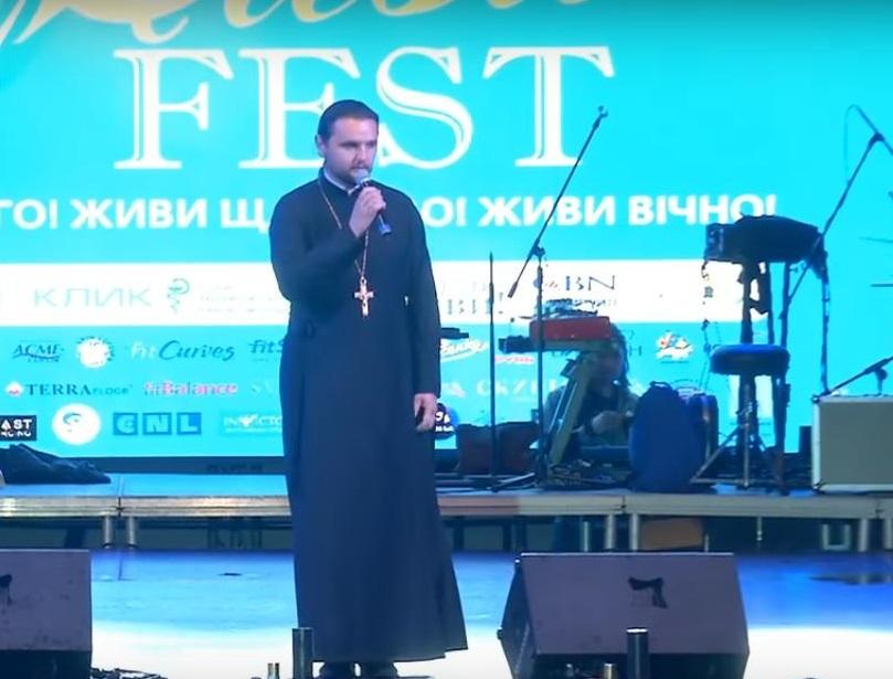 "Протоиерей Александр Клименко выступил на фестивале ""ЖИВИ FEST"" / news.church.ua"