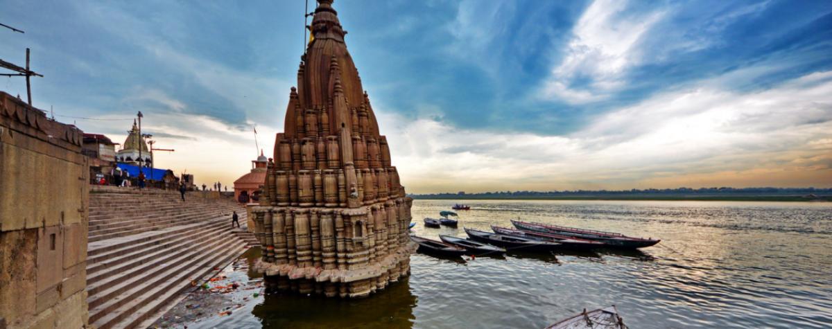 В Індії затопило храм / flickr.com