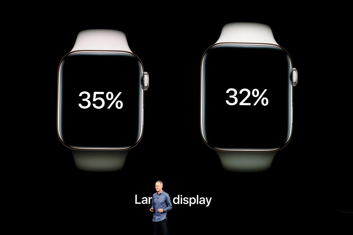 Apple Watch Series 4 / REUTERS