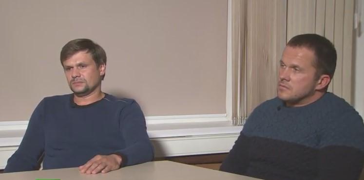 После интервью Петров и Боширов исчезли / скриншот