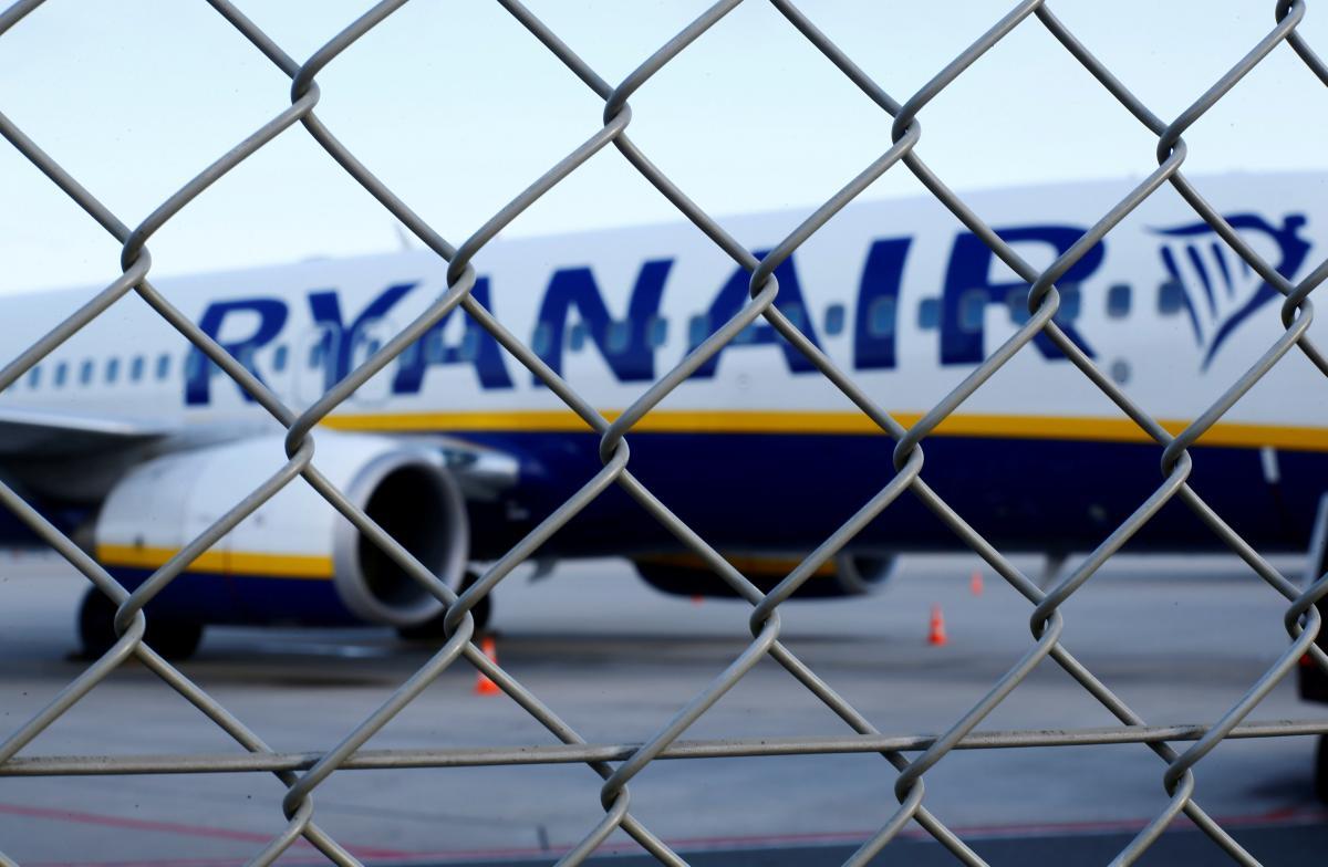 Ryanair приостанавливает большинство рейсов из Киева / REUTERS