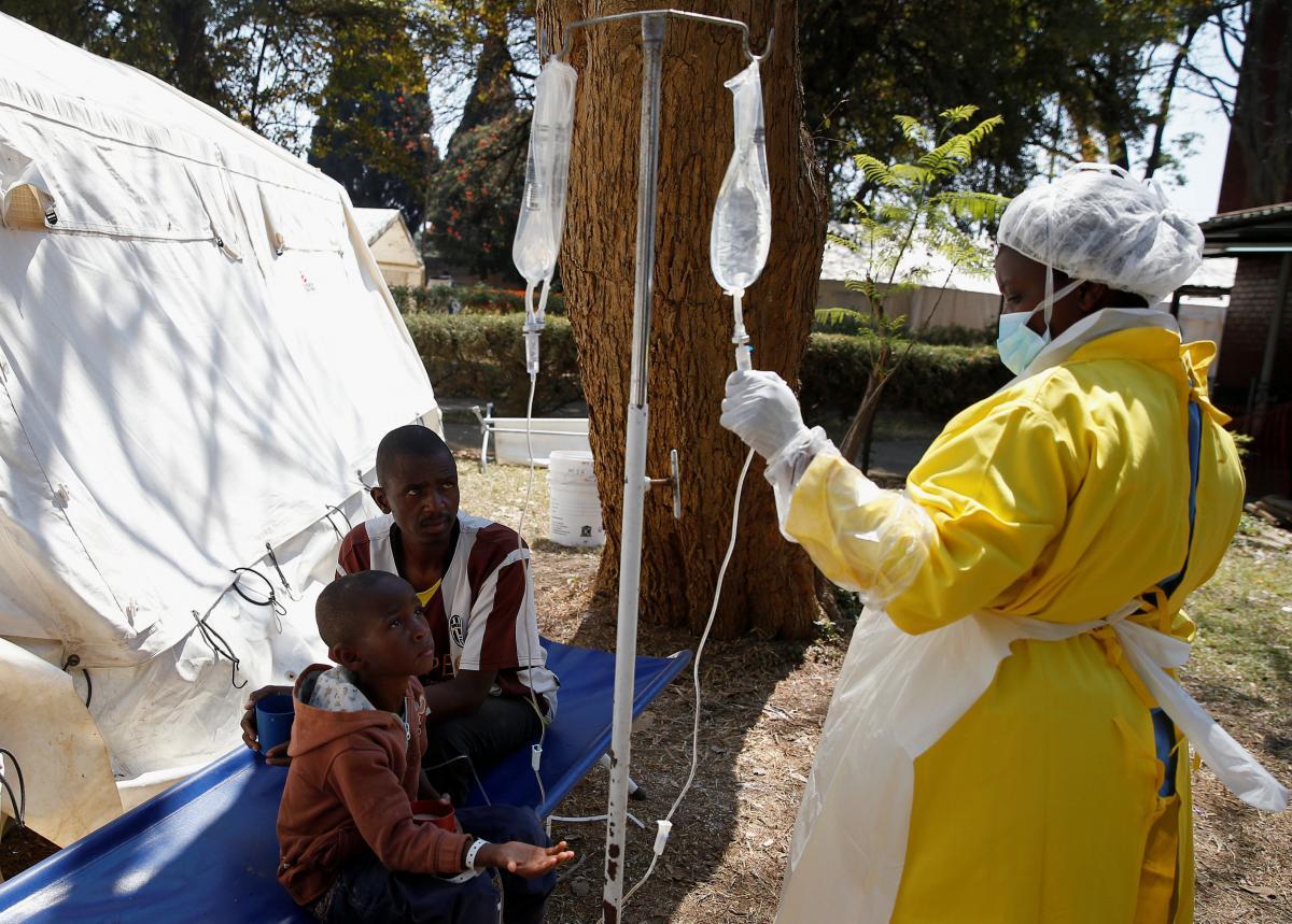 В столице Зимбабве вспышка холеры / Иллюстрация REUTERS