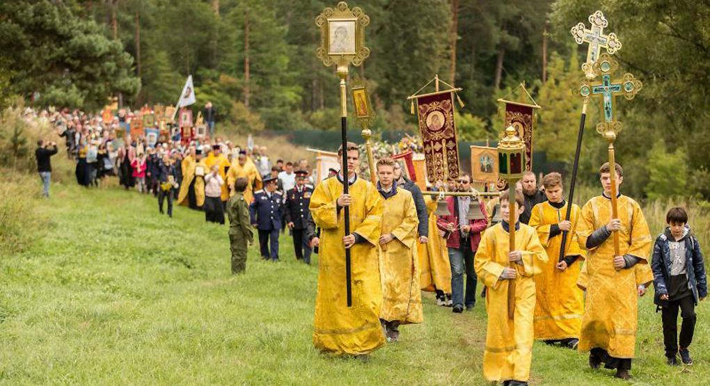Завершится крестный ход общей молитвой святой Елизавете Федоровне / foma.ru