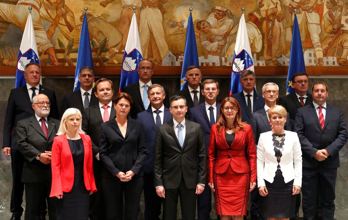 Новое правительство Словении / REUTERS