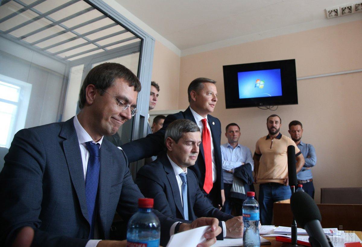 Омелян на засіданні суду / фото УНІАН